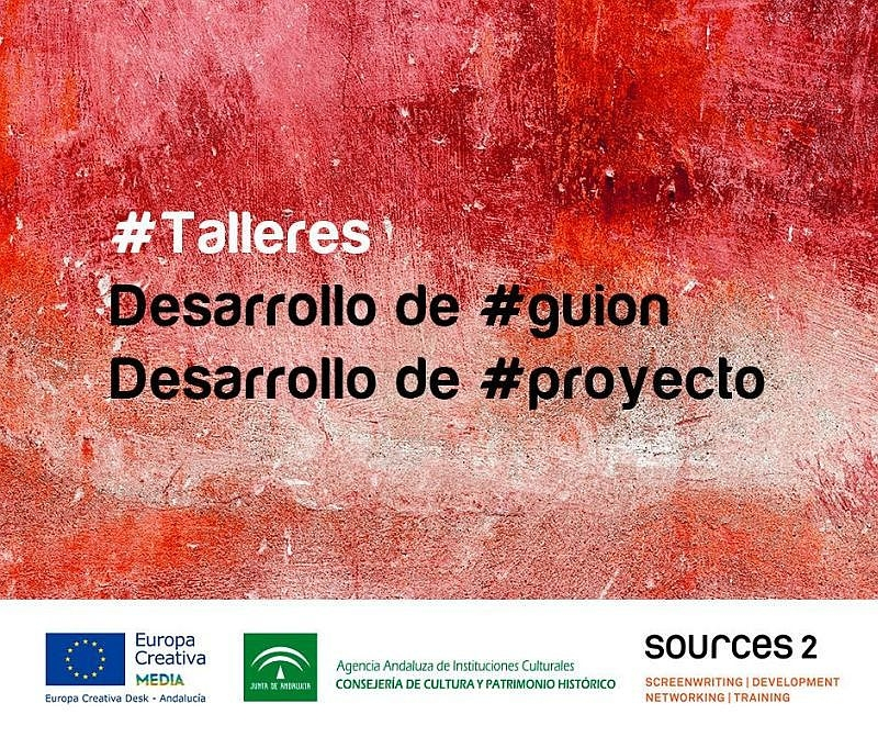 Talleres sobre desarrollo de guión y desarrollo de proyecto en Sevilla