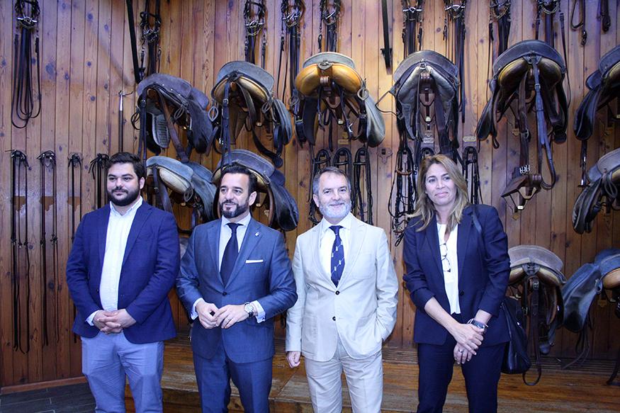 Jorge Ramos asume la dirección de la Real Escuela Andaluza de Arte Ecuestre