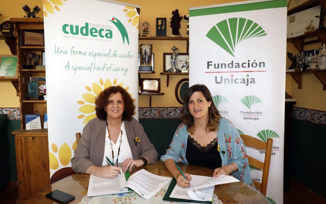 Fundación Unicaja renueva su apoyo a la Fundación Cudeca-Ciudados del Cáncer