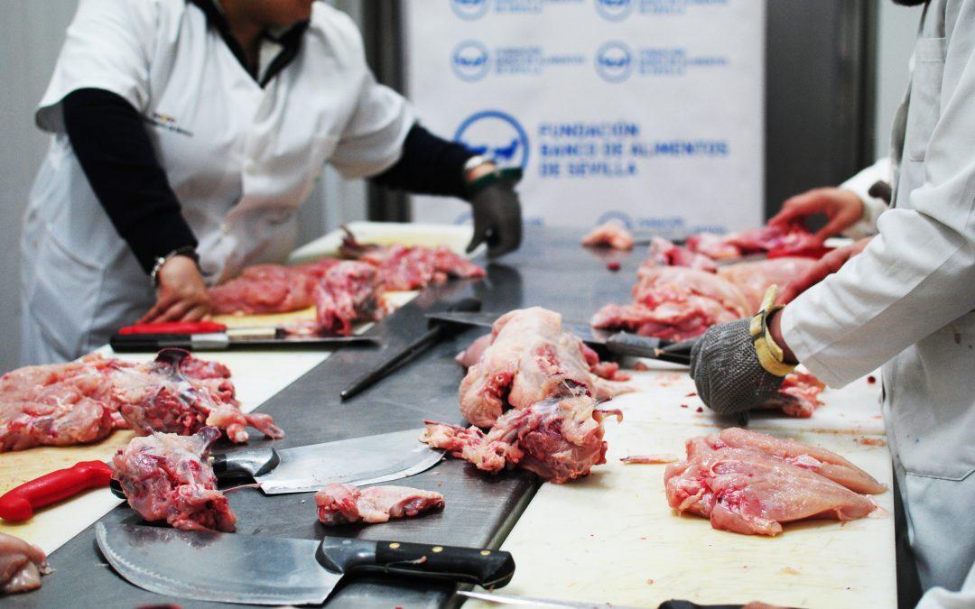 La Fundación Banco de Alimentos de Sevilla estrena una nueva línea de formación: profesionales del fresco