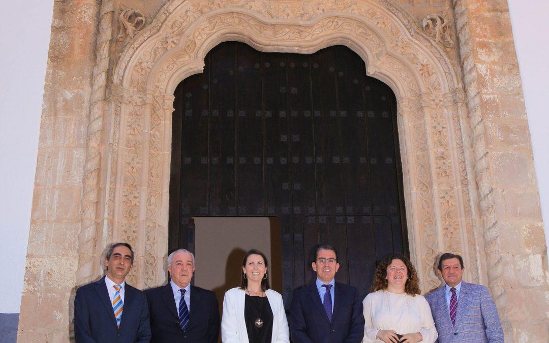 Fundación Unicaja rehabilita la antigua capilla del Colegio Fernando de los Ríos como salón de actos