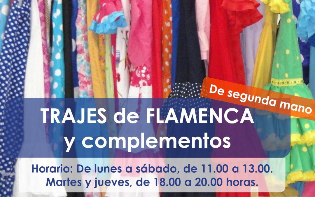 Madre Coraje abre este lunes en Puerto Real un mercadillo de segunda mano de trajes de flamenca