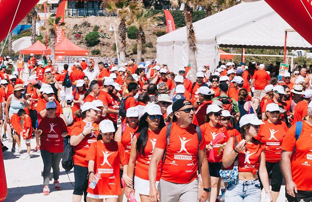 ¡1.100 participantes en Marcha por CUDECA – Walkathon 2019!