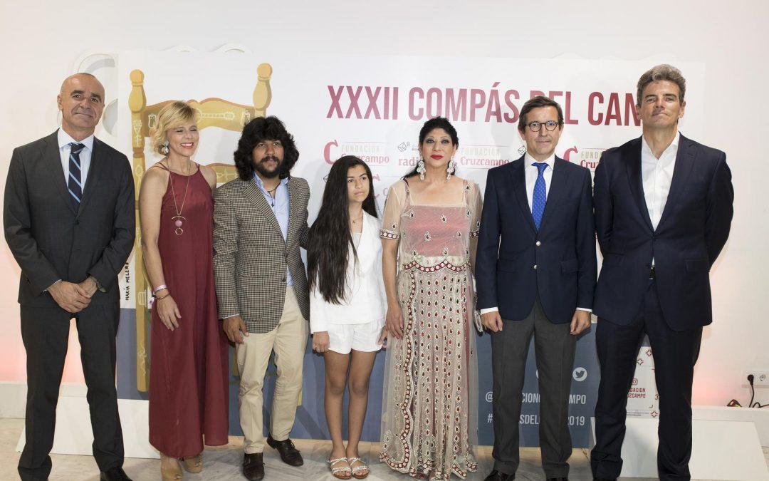 Manuela Carrasco y Rancanpino Chico, galardonados por la Fundación Cruzcampo en la XXXII Edición del 'Compás del cante'