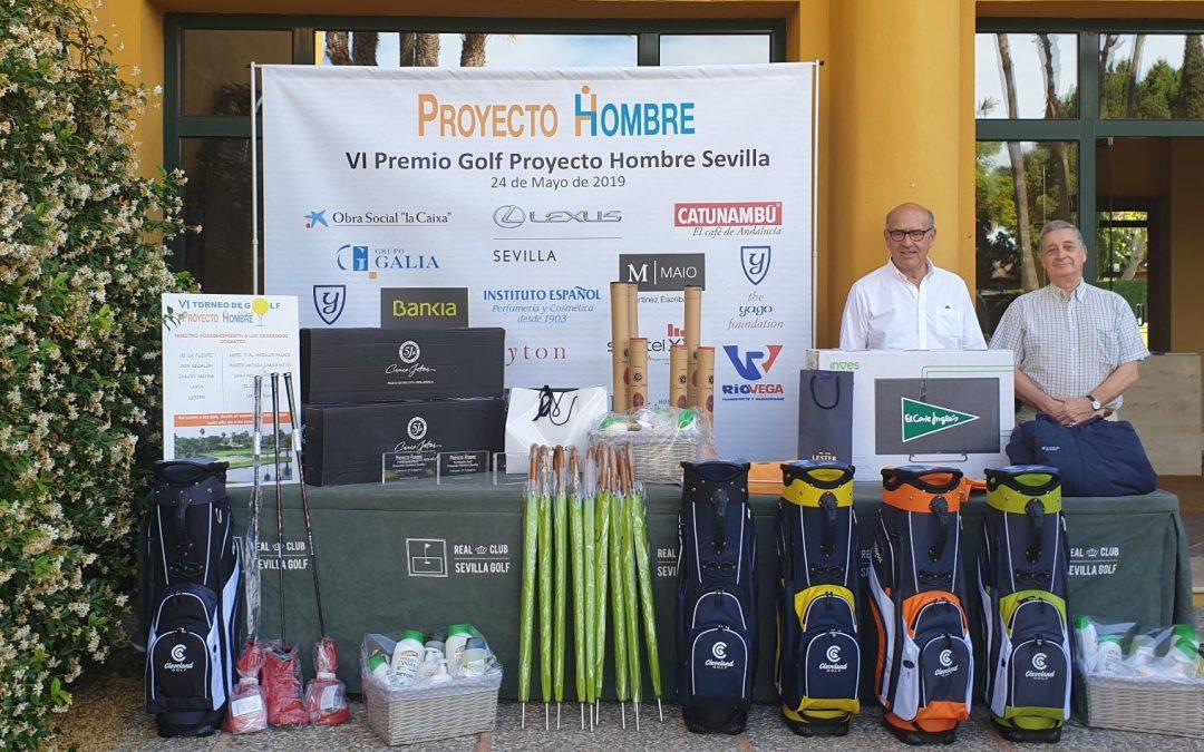 Éxito del VI Torneo de Golf a beneficio de Proyecto Hombre Sevilla