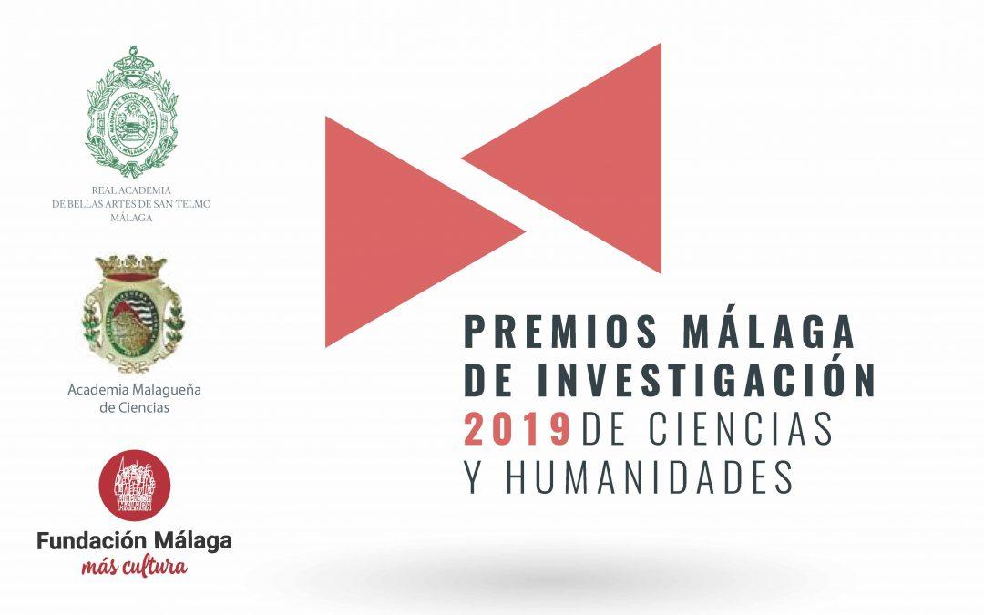 Se abre el plazo para los Premios Málaga de Investigación 2019 patrocinados por Fundación Málaga