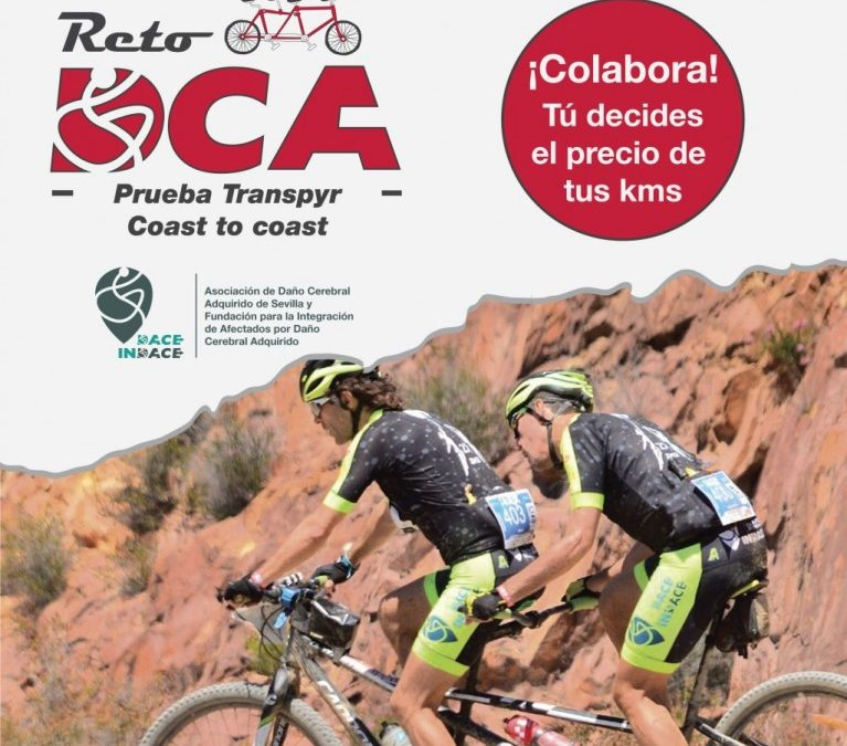 RetoDCA: Cruzamos los Pirineos en tándem para recaudar fondos para los niños y niñas con Daño Cerebral Adquirido