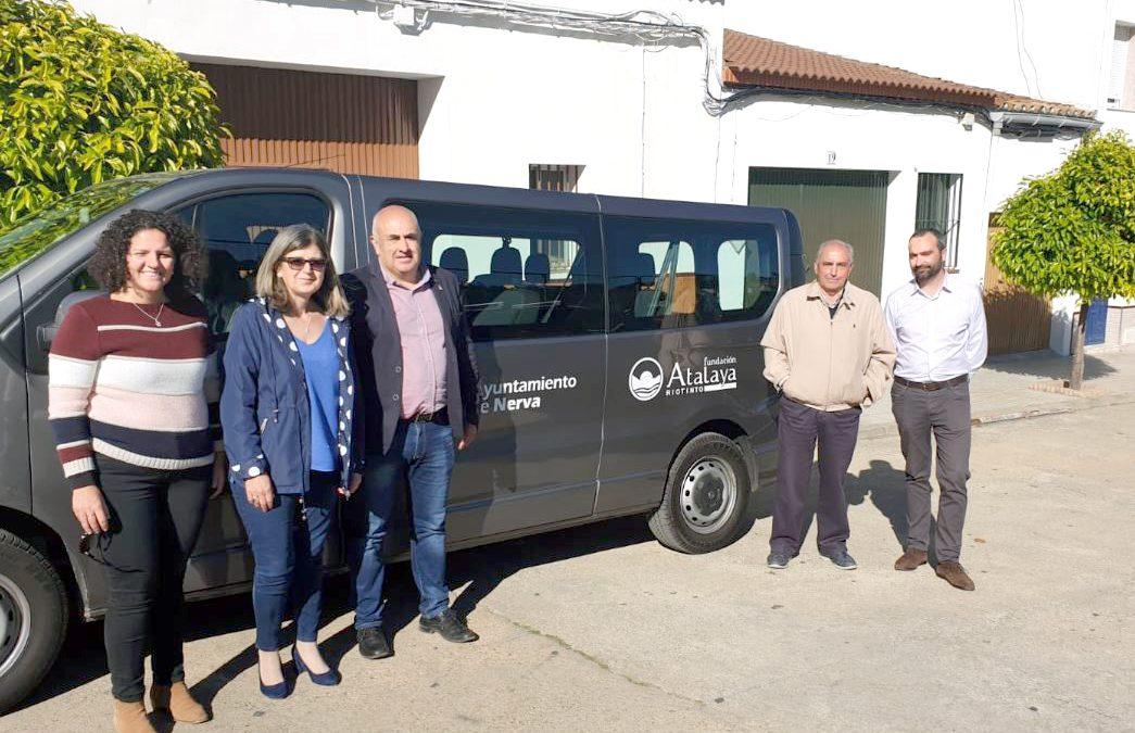 Fundación Atalaya y Ayuntamiento de Nerva impulsan actividades y mejoras para el municipio