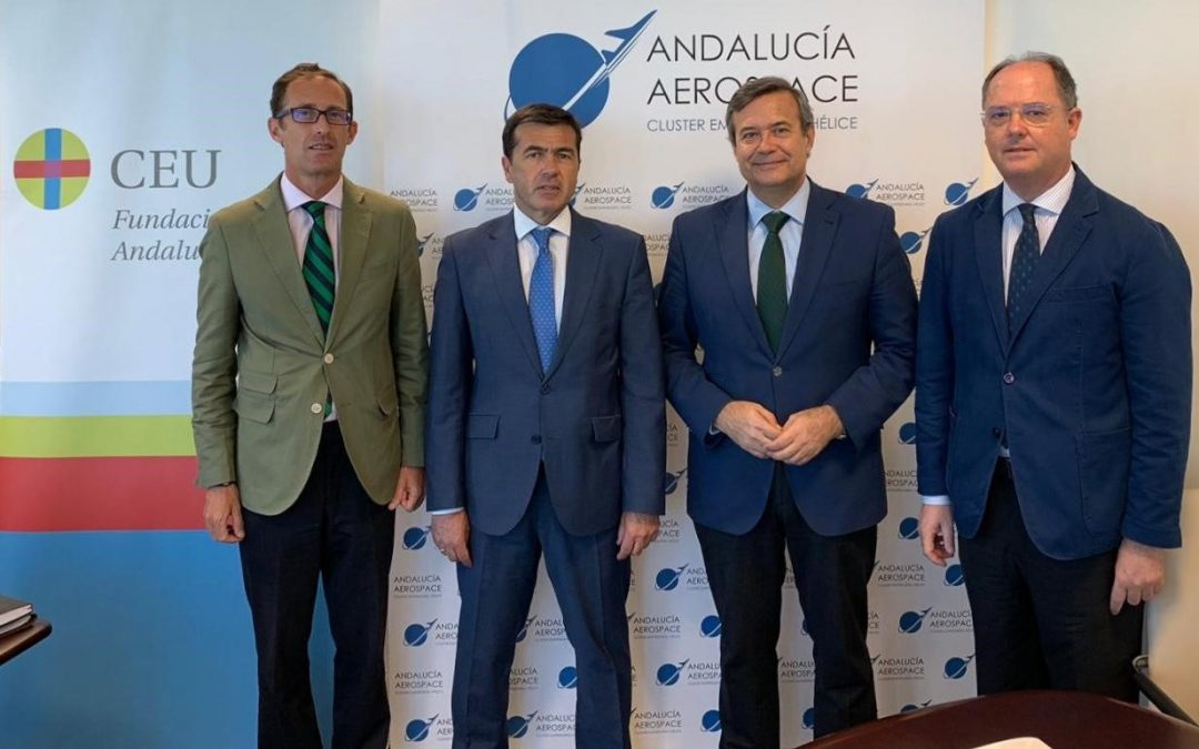 Incorporación de CEU Andalucía a Andalucía Aerospace