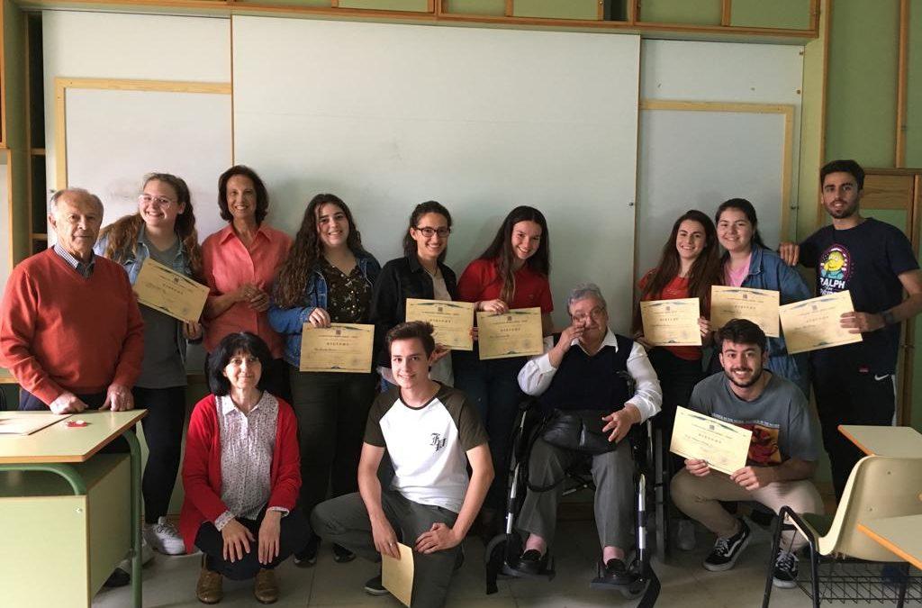 La Asociación Madre Coraje agradece al Colegio 'Amor de Dios' de Cádiz la colaboración de su alumnado