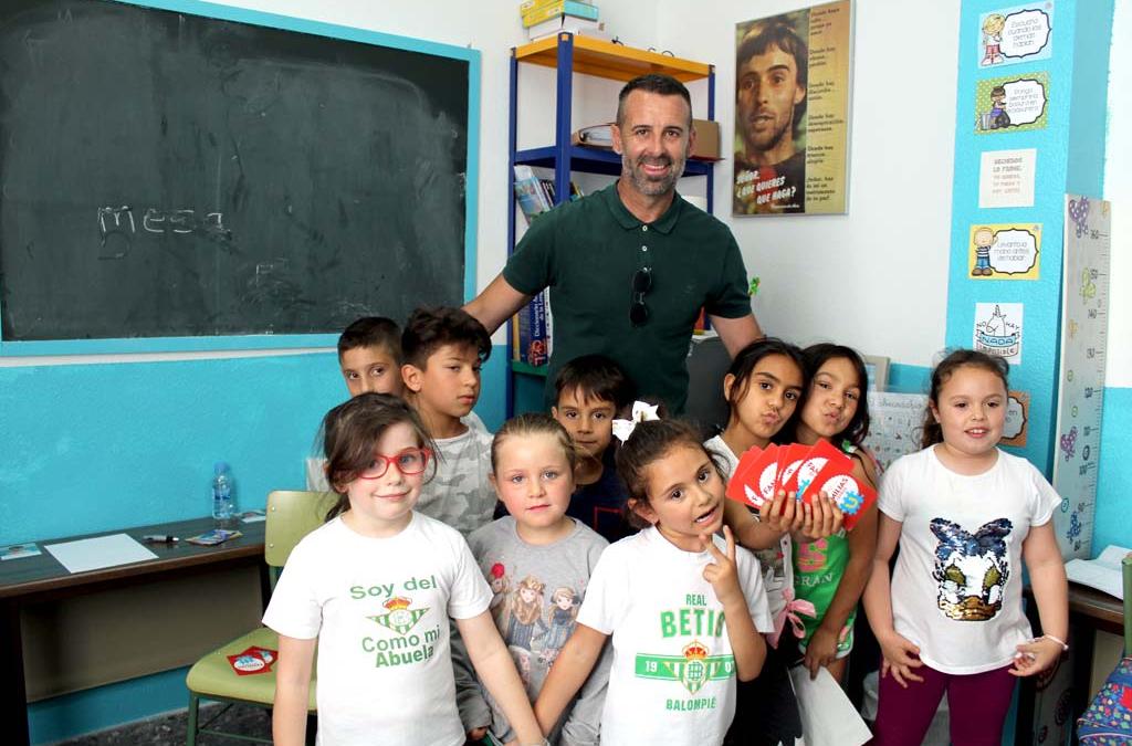 Toni Doblas apadrina el Programa Ángeles de la Zona Sur de Fundación Ideas