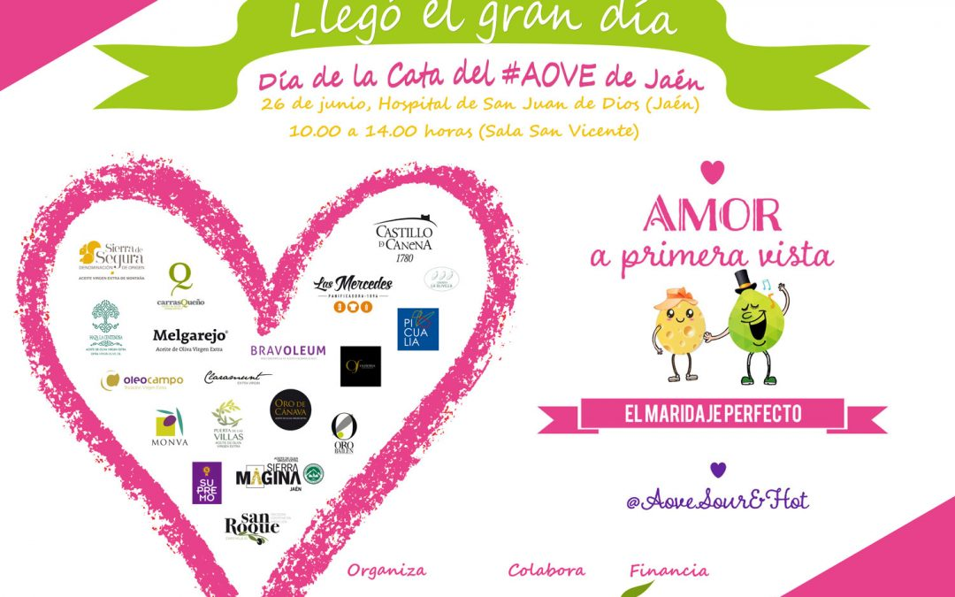 Jaén. Celebra el Día de la Cata del #AOVE de Jaén