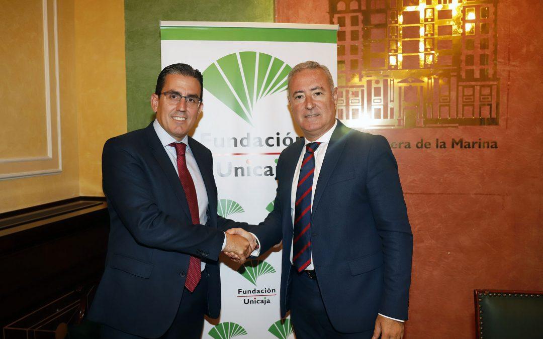 Fundación Unicaja renueva su colaboración con el Colegio Profesional de Economistas de Málaga