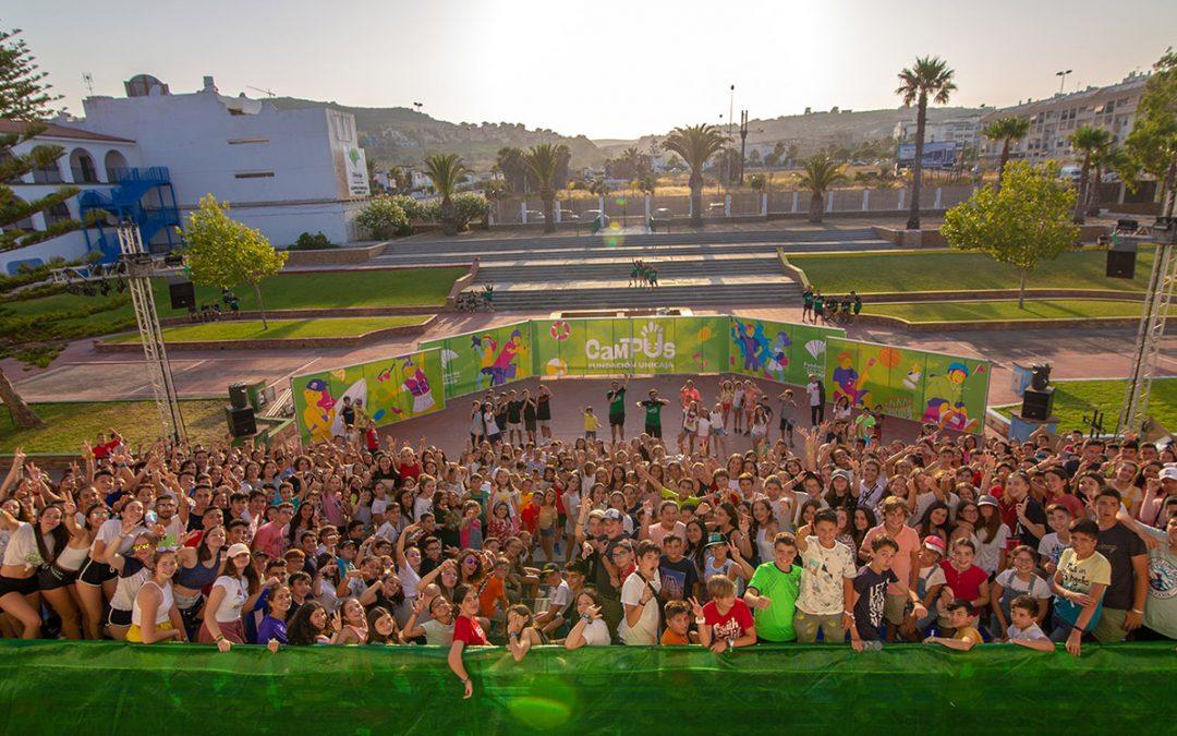 Comienza la temporada de verano de los Campus Fundación Unicaja con todas las plazas cubiertas