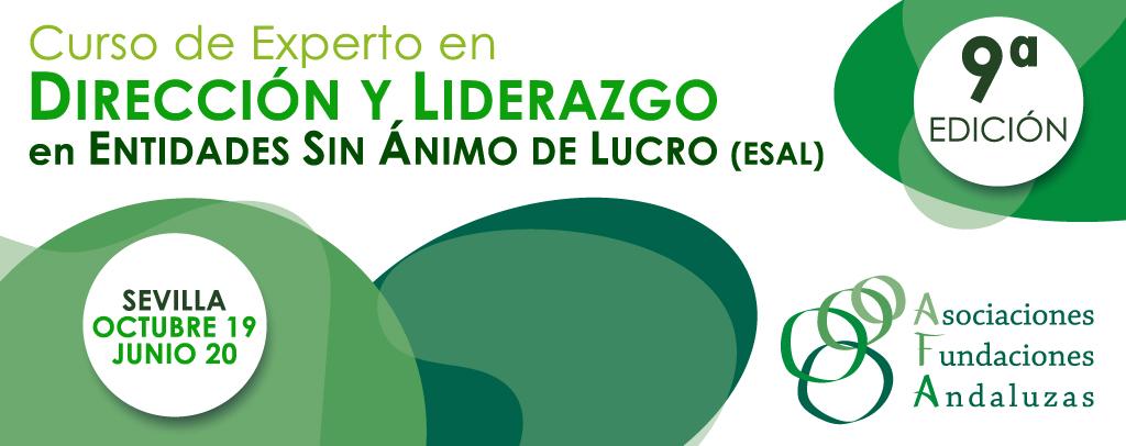 Abierto el plazo de matriculación de la 9ª edición del Curso de Experto en Dirección y Liderazgo en Entidades Sin Ánimo de Lucro (ESAL)