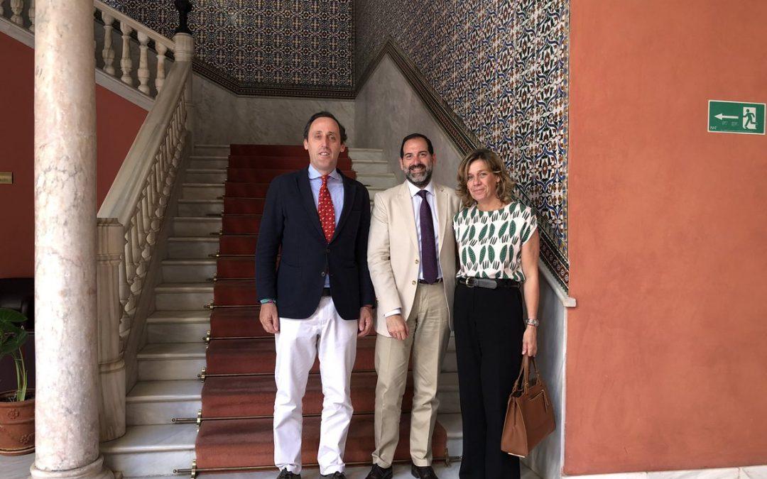 AFA se reúne con Director General de Justicia Juvenil y Cooperación de la Junta de Andalucía