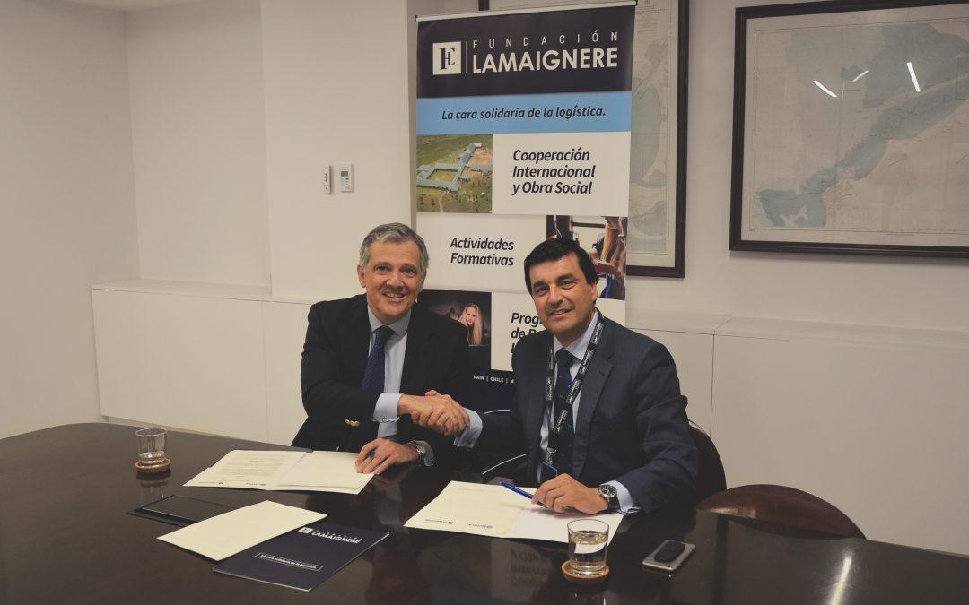 La Fundación Lamaignere y la Universidad de Loyola de Andalucía firman un convenio de colaboración
