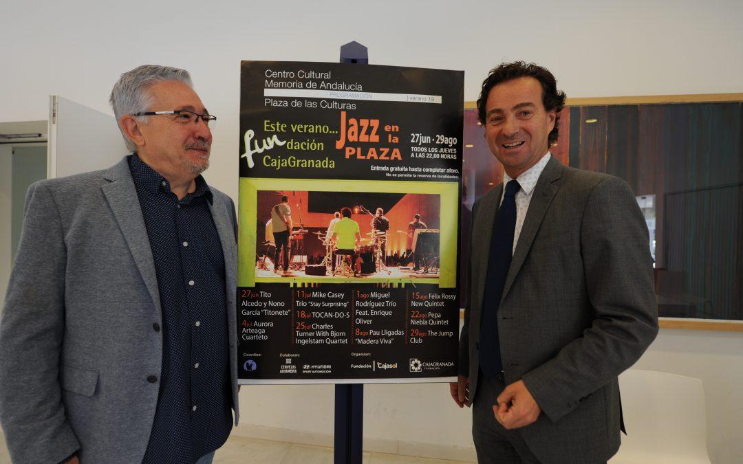 Vuelven las noches de cine y de jazz en directo a la Plaza de las Culturas del Centro Cultural Memoria de Andalucía