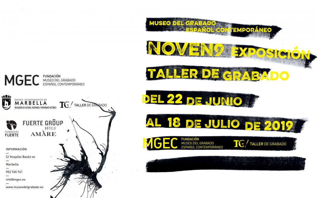 Marbella, Málaga. Inauguración de la exposición 'Noven9 Taller Grabado'