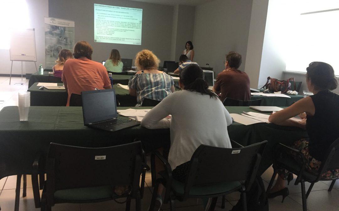 Salud promueve un taller práctico para incentivar la movilidad internacional de los investigadores de la sanidad pública