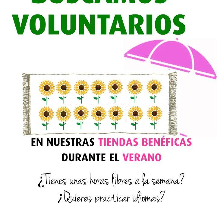 La Fundación Cudeca lanza una campaña de captación de voluntarios para sus tiendas benéficas durante la época de verano