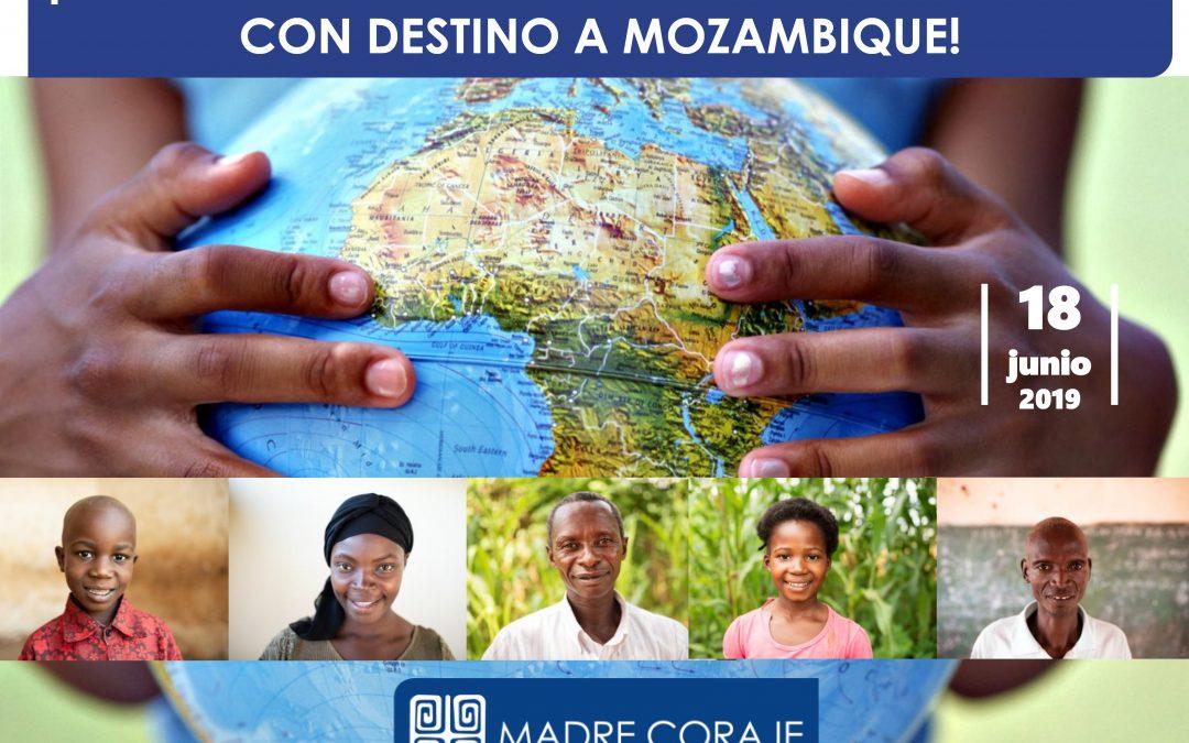 Madre Coraje carga mañana el primer contenedor de material humanitario con destino a Mozambique