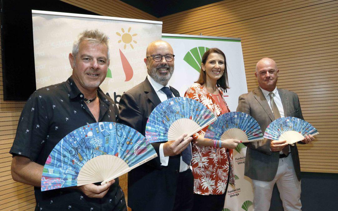 Fundación Unicaja y Hogar Abierto difundirán 3.000 abanicos para concienciar sobre el acogimiento familiar