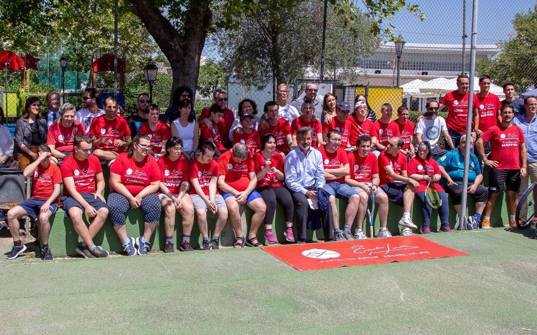 Clausura de temporada de las escuelas de pádel y tenis inclusivo de Pádel Integra