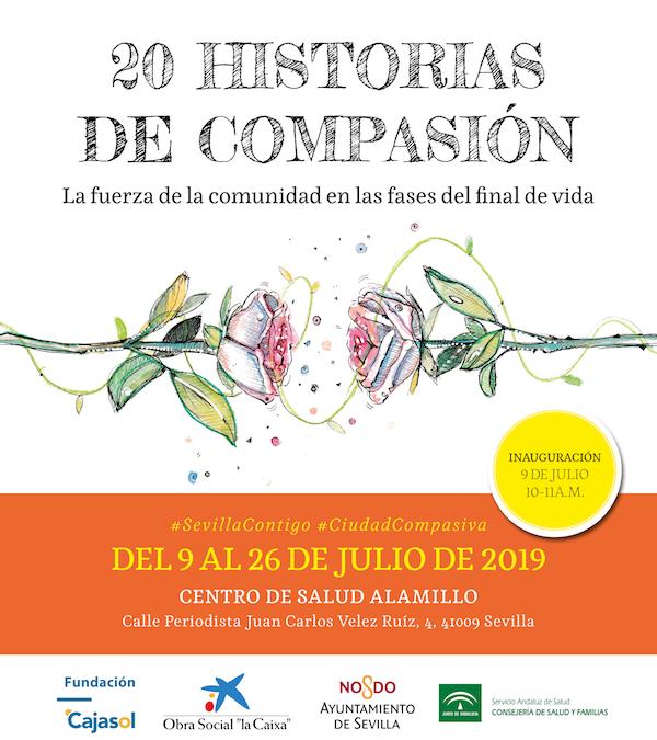 Sevilla. Exposición itinerante «20 historias de compasión»