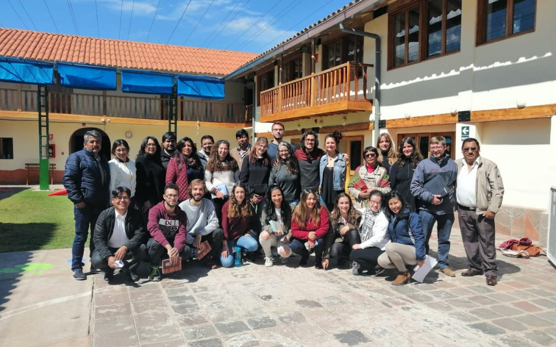 16 personas inician su voluntariado y sus prácticas del máster de cooperación en Cusco