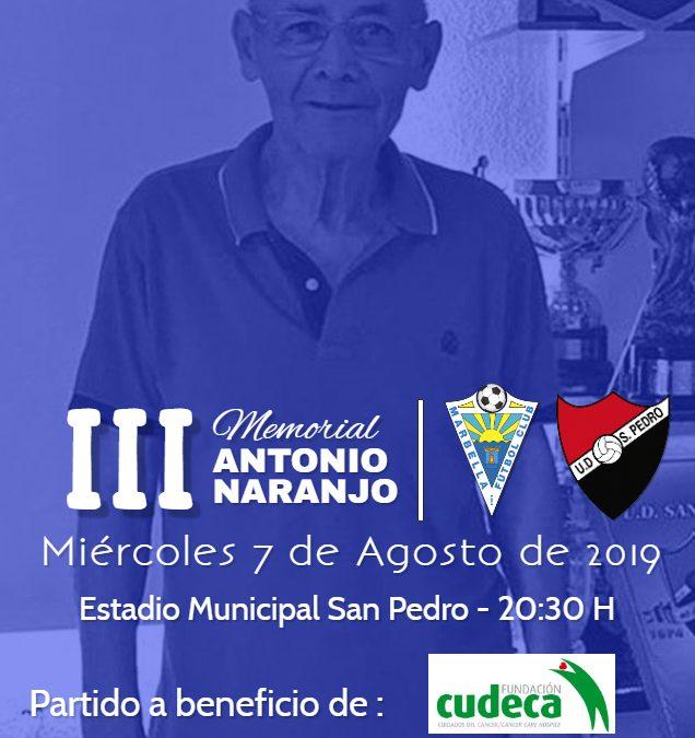 Marbella, Málaga. El III Memorial Antonio Naranjo