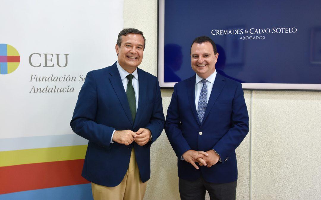 CEU Andalucía y Cremades-Calvo Sotelo Sevilla impulsan la especialización jurídica en entornos tecnológicos