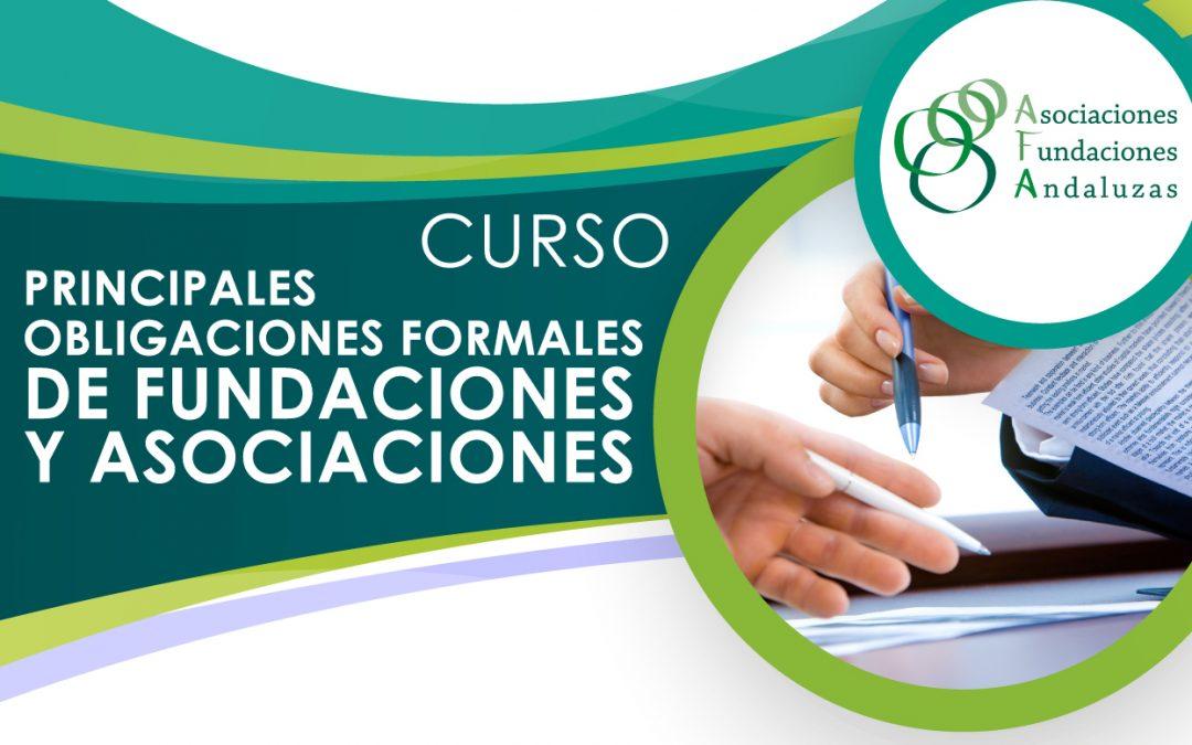Curso en Cádiz: Principales obligaciones formales de fundaciones y asociaciones