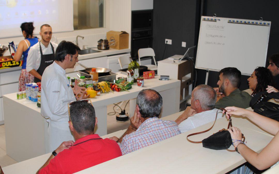 Fundación BAS organiza un curso de aprovechamiento alimentario con la Escuela Superior de Hostelería de Sevilla