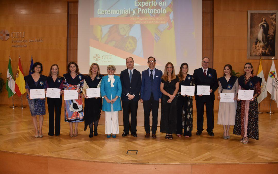 II Promoción del Experto en Ceremonial y Protocolo de CEU Andalucía