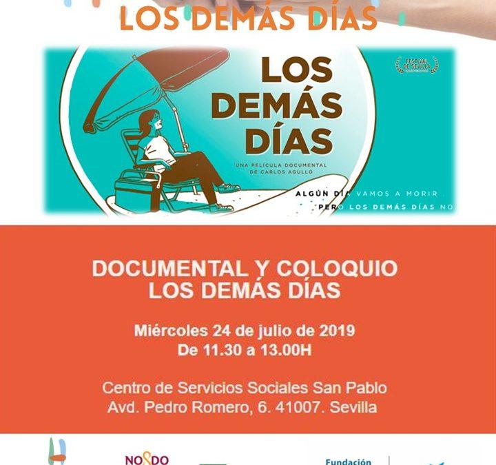 Sevilla. Cine Forum: proyección de  'Los demás días'