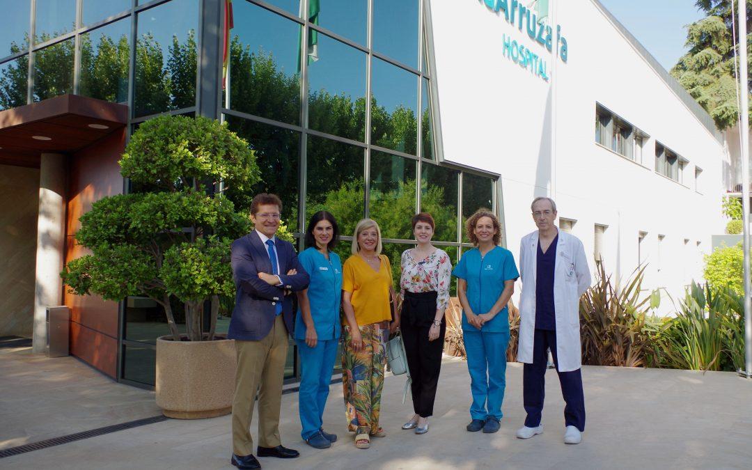 Hospital La Arruzafa y COOOA firman un convenio para divulgar la optometría