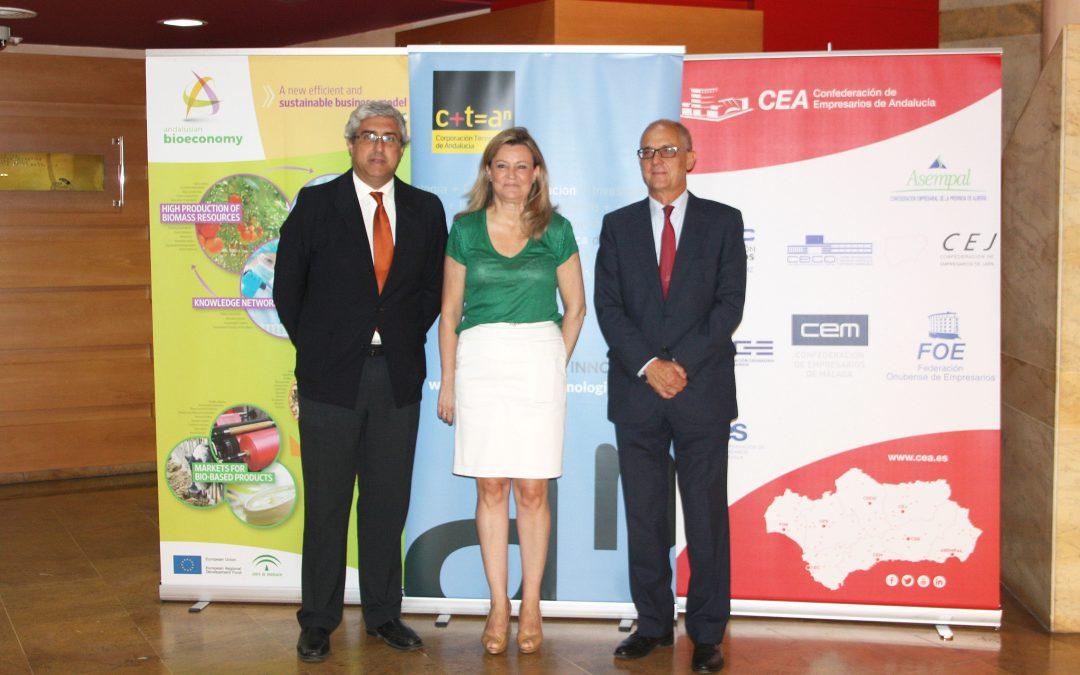 La Consejería de Agricultura y CTA lanzan el Hub andaluz de Innovación Digital para Bioeoconomía ICT-BIOCHAIN