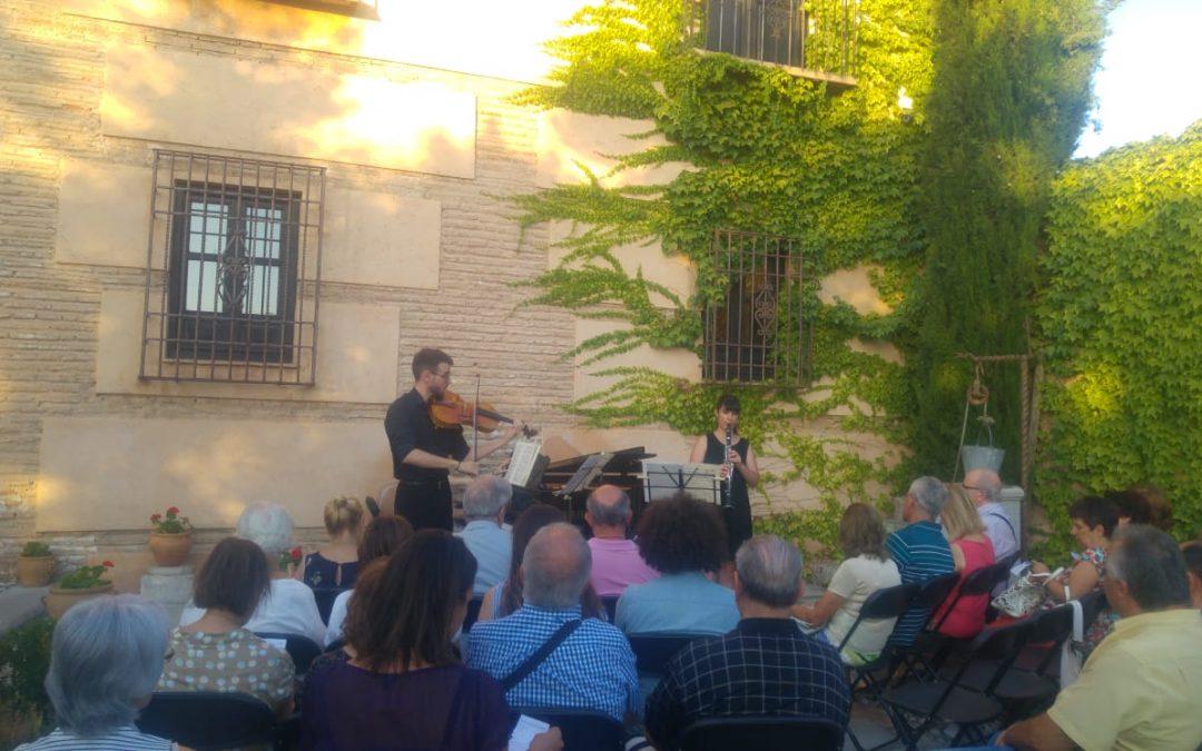 Mozart suena en el Aljibe del Rey, sede de Fundación AguaGranada