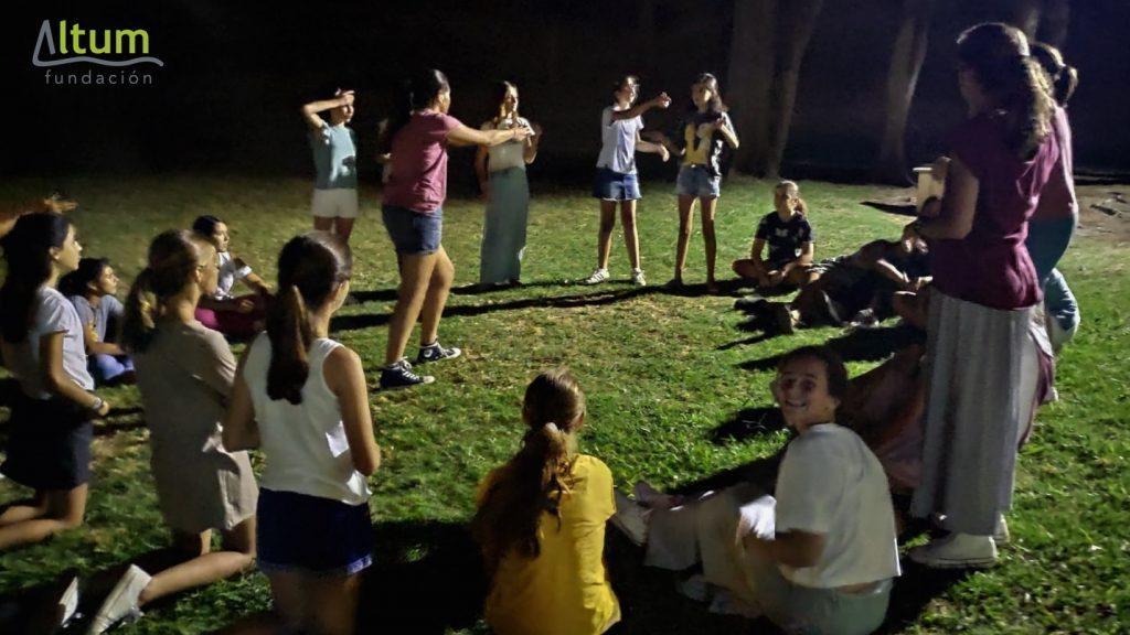 Éxito de los campamentos de verano de la Fundación Altum