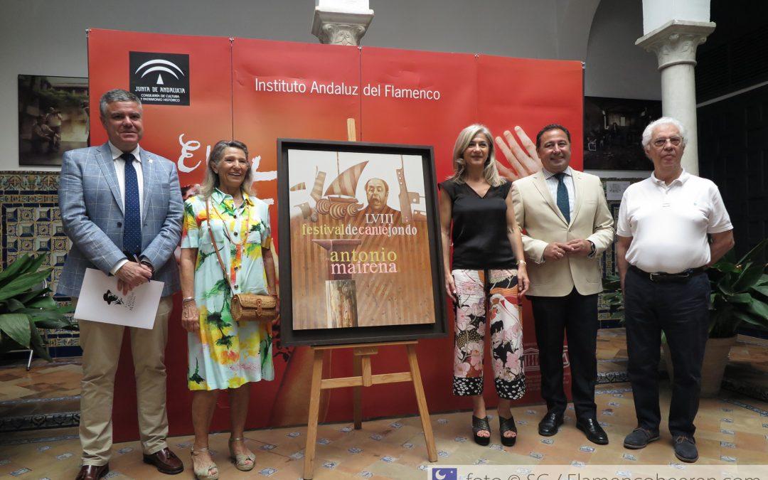 Cristina Heeren recibirá el homenaje del 58º Festival de Cante Jondo Antonio Mairena