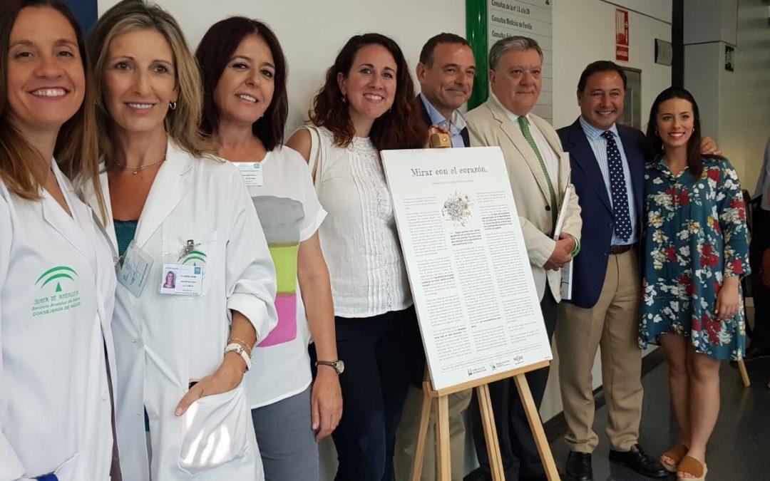 Fundación New Health inaugura la exposición itinerante «20 historias de compasión» en el centro de Salud Alamillo