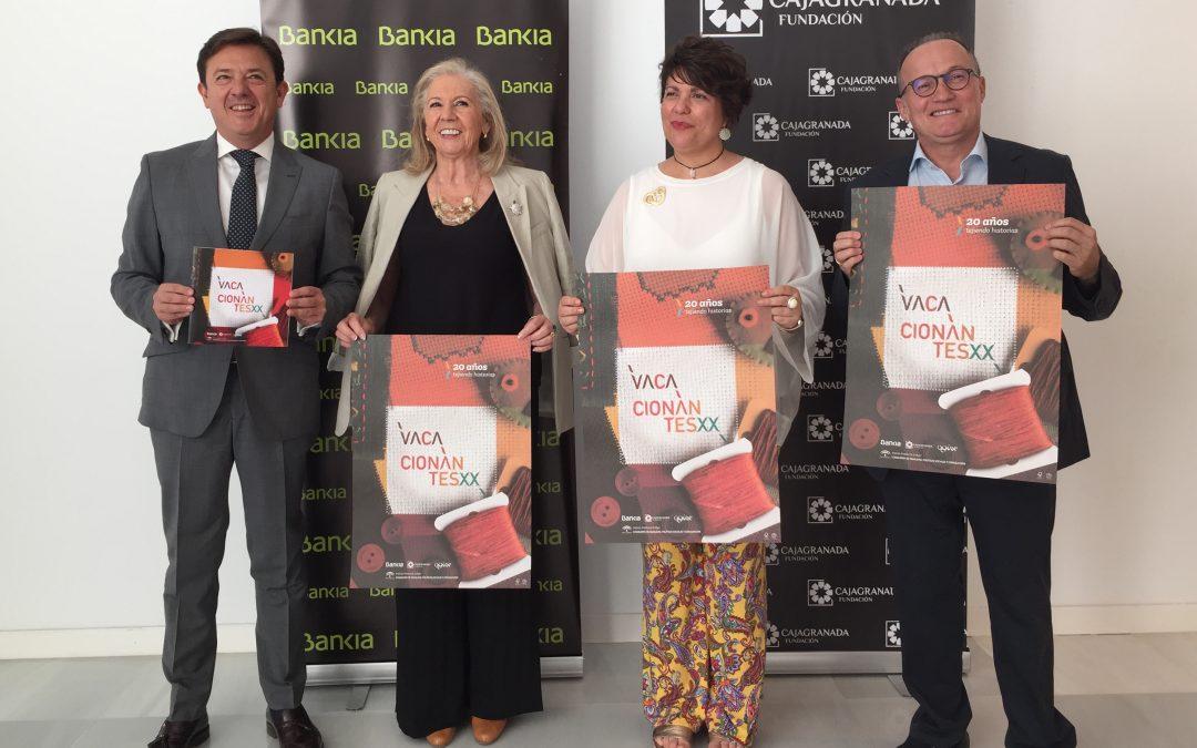 CajaGranada Fundación, Bankia y el Instituto Andaluz de la Mujer impulsan el programa social 'Vacacionantes' de la Junta de Andalucía
