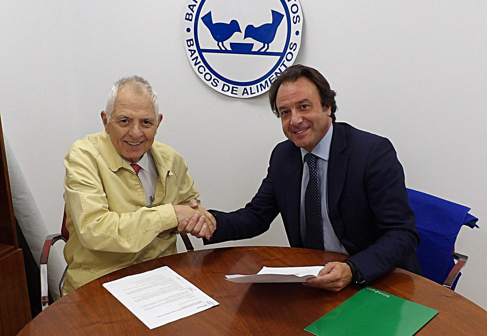 El Banco de Alimentos de Córdoba firma un convenio con El Corte Inglés