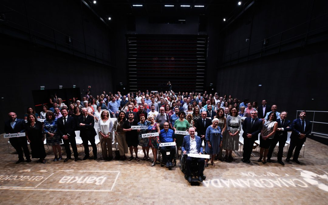 Bankia y CajaGranada Fundación entregan 250.000 euros  a 81 proyectos sociales y de fomento del empleo de Andalucía