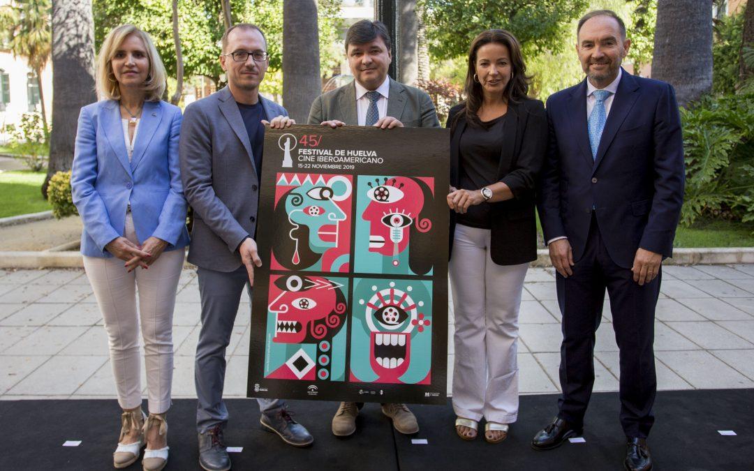El Festival de Huelva da a conocer el cartel anunciador de su 45 edición