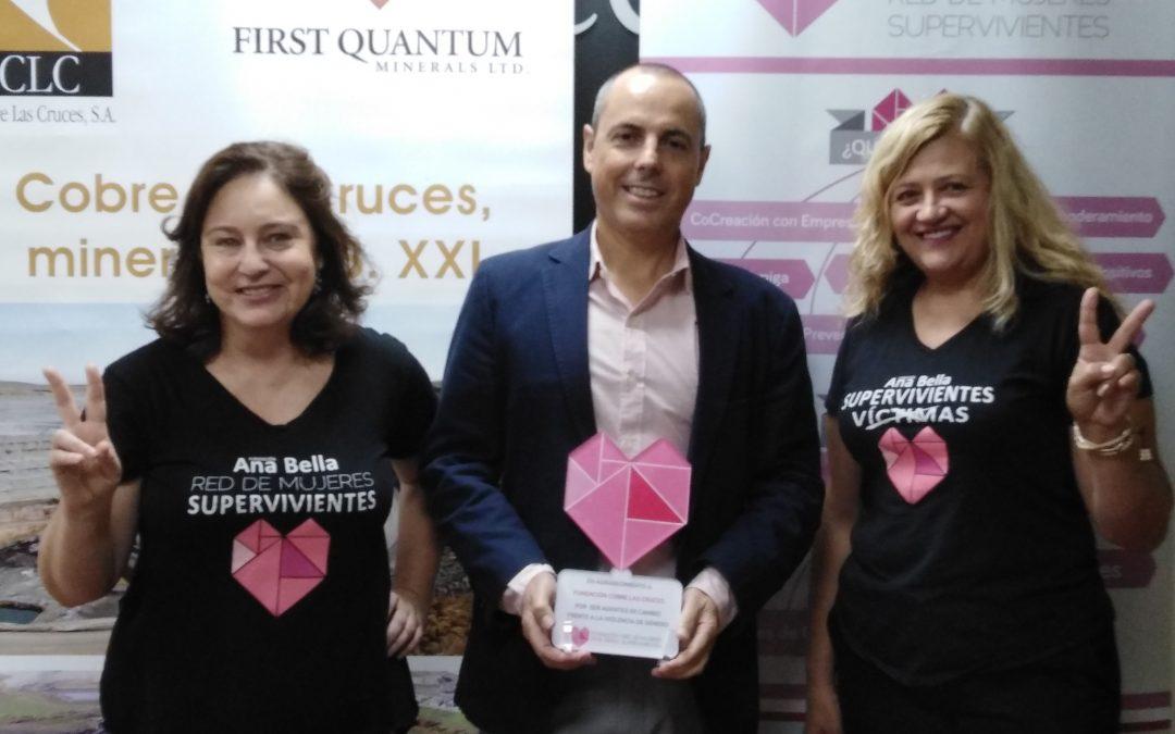 Las Fundaciones Ana Bella y Cobre Las Cruces firman un acuerdo para luchar contra la violencia de género