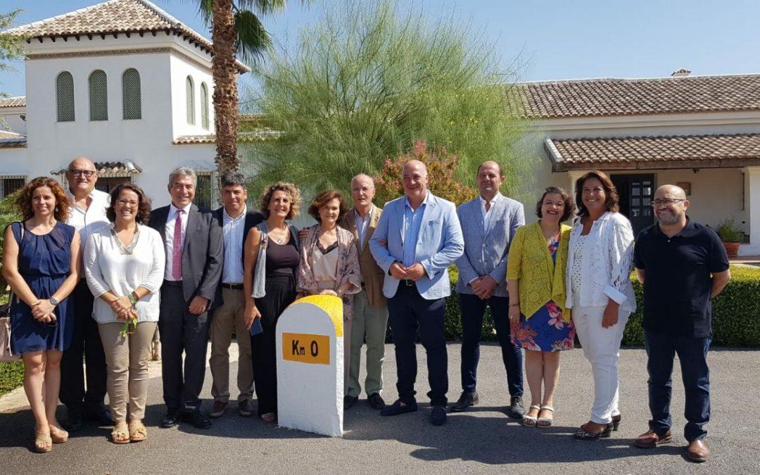 Carmen Calvo visita a Fundación Emet Arcoiris y conoce su proyecto Ödos