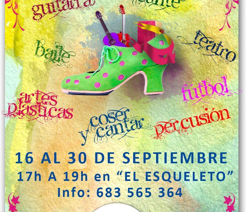 La Fundación Alalá abre el plazo de inscripciones para su Escuela de Arte en Polígono Sur