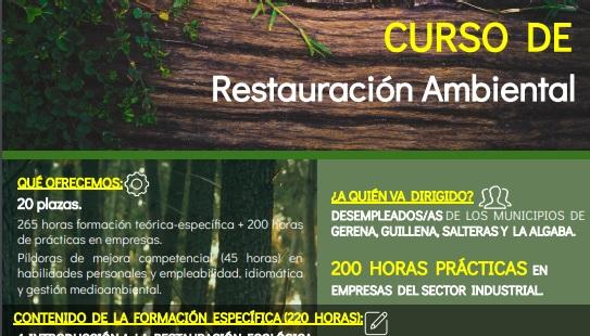 La Escuela Industrial Cobre Las Cruces convoca un nuevo curso sobre Restauración Ambiental